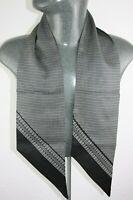Vintage Silk Style Scarf mod dandy retro mens womens cravat foulard *873