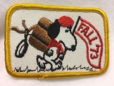 Boy Scouts -   Hiking SNOOPY Scout patch