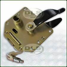 LAND ROVER DEFENDER - Rear End Door Handle and Lock Barrel`87 on (FQJ103840SET)