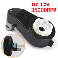 RS570 Gear Box Motor 12V 35000RPM Electric Car Gearbox With 12V Motor Fitting