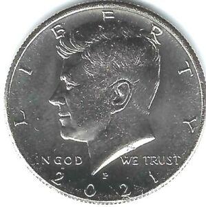 2021-P Philadelphia Brilliant Uncirculated Nickel Clad Copper Half Dollar Coin
