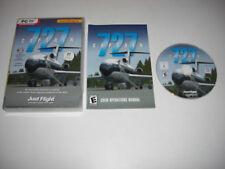 727 CAPTAIN Pc DVD Rom Add-On Expansion Flight Simulator Sim X FSX FS