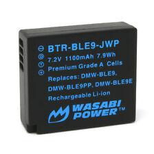 Wasabi Power Battery for Panasonic DMW-BLE9, DMW-BLG10
