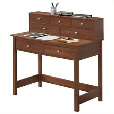 Techni Mobili Elegant Writing Desk With Storage
