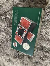 Wemco Electronic Card Shuffler included 2 Decks Of Cards Nib