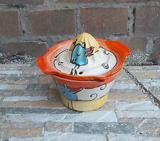 Spremiagrumi con Ciotola Ceramica in payaso