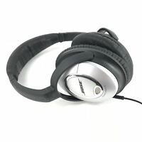 Bose QuietComfort 15 Noise-Cancelling Headphones QC15 - Silver and Black READ