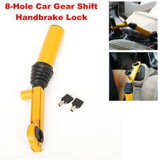 8-Hole Car SUV Gear Shift Handbrake Lock Anti-theft Security Kit Stainless Steel