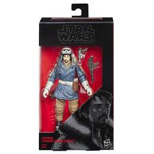 "Hasbro Star Wars Black SERIE - Capitano Cassian Andor - ROGUE ONE 6 "" -14cm"