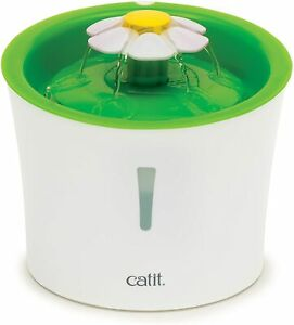 Catit Original Flower Fountain with Water Level Window, 3 Litre REUFRBISHED