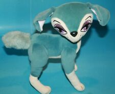"Bratz Petz Blue Plush Dog 10"" Big Eyes Soft Toy Stuffed Bendable Legs Poseable"