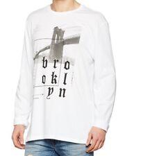 New Look Men's Brooklyn Back Print T-Shirt Size S (0035)