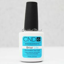 CND BRISA LITE Removable Sculpting Smoothing Gel  >> TOP COAT 0.5 oz 15ml