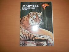 Marwell Zoological Park Zoo Hampshire Brochure 1970s or 1980s damaged