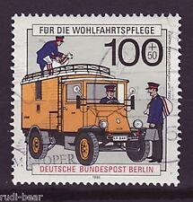 Berlin Nr.  878  gest.  Elektro Paket Zustellwagen um 1930    -2