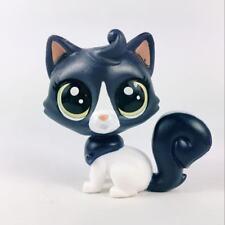 Original Littlest pet shop Cat LPS in the City Inkwell Felinsky Figure Girl Toy