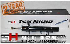 2 Brand New Front Huile Amortisseurs pour CITROEN C2, C3 2002 - >/GH-321902H/