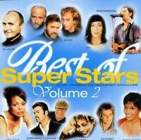Best of Super Stars 2 (1999, Warner) Cher, Bruce Springsteen, Janet Jac.. [2 CD]