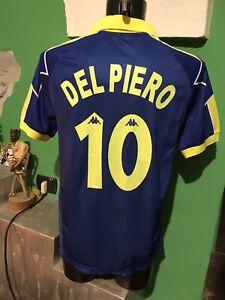 Del Piero Juventus Kappa Football Shirt Jersey Camiseta Maglia Calcio Blu