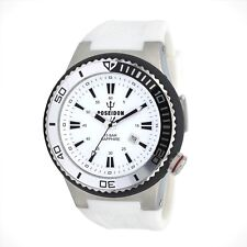 POSEIDON Armbanduhr XL, Analog, Quarz, Silikon, 15Bar, UP00612