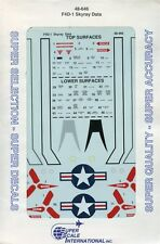SuperScale Decals 1:48 F4D-1 Skyray Data #48-646