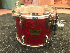 "Pearl Masters Studio Birch 12"" Tom Drum RED SPARKLE"