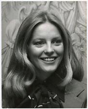 Luscious Blonde Beauty Cheryl Ladd @ Wella Balsam Luncheon 1977 Orig. Photograph