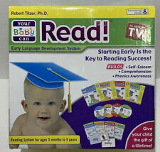 Your Baby Can Read Early Reading System 4 DVDs, 4 books & 4 Word Card Sets