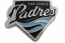 Men Women Silver Metal Fashion Belt Buckle Padres San Diego Sport Team Baseball