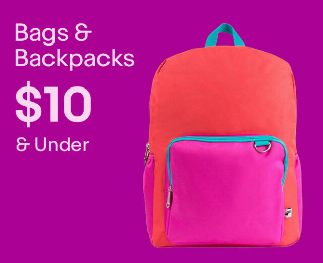 Unisex Bags & Backpacks under $10.00