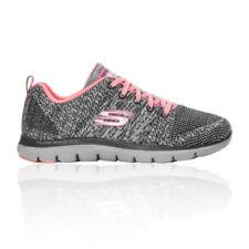 Zapatillas fitness/running de mujer Skechers color principal gris