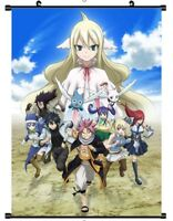"Hot Japan Anime Fairy Tail Art Poster Wall Scroll Home Decor 8""x12"" F185"
