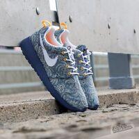 Nike Roshe Run Womens Liberty of London Blue Recall/White QS