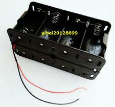 1pc 8 x D size Cell Battery Holder Box 12V Case With Wire Lead New