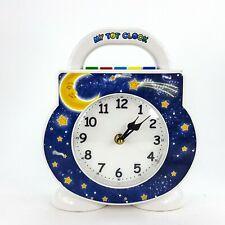 My Tot Clock Toddler Sleep Alarm Clock w/ Light & Sound & Treasures Cartridge