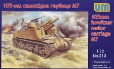 Unimodel 1/72 M7 105 Mm Howitzer Motor Carro # 213