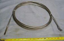 """Loos Boat Sailboat 3/16"""" Rigging Cable w Johnson Swage Stud, OS Rigging T-Ball"""