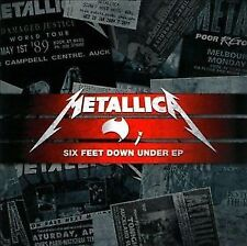 Six Feet Down Under EP [EP] by Metallica (CD, Sep-2010, UNIVERSAL) Live Recordin