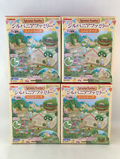 Kabaya Sylvanian Families Miniature Building Set Capsule Deluxe House Pack 4pc