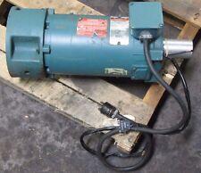 RELIANCE V76B1534R-NM TYPE TPR FR.: EE56C 3/4 HP 2500 RPM 90V DC MOTOR
