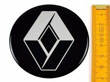 RENAULT ★ 4 Stück ★ SILIKON Ø70mm Aufkleber Emblem Felgenaufkleber Radkappen