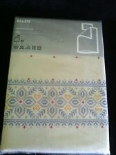 NEW Ikea ELLEN Twin Duvet Quilt Cover Set-RARE Discontinued-Tan