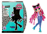 NEW  LOL Surprise ROLLER CHICK OMG Fashion Doll Series 3 Sk8ter IN HAND Sister