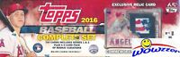 2016 Topps Baseball EXCLUSIVE 706 Cards MIKE TROUT Stamp RELIC Factory Set-5 VAR