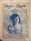 Paris qui Chante N°167 1906 Valentine Merelli