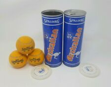 Unopened Vintage Spalding Australian Tennis Ball Collectible + Bonus Open Tin