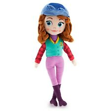 DISNEY STORE SOFIA FIRST EQUESTRIAN SOFT PLUSH DOLL IN RIDING OUTFIT NWT