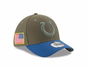 Indianapolis Colts New Era 2017 Salute To Service 39THIRTY Flex Hat – Olive