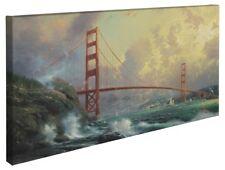 Thomas Kinkade San Francisco, Golden Gate Bridge 16 x 31 Wrap