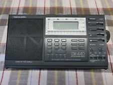 GENTLY USED REALISTIC DX-440 SHORT WAVE RADIO W/MANUAL AND POWER SUPPLY